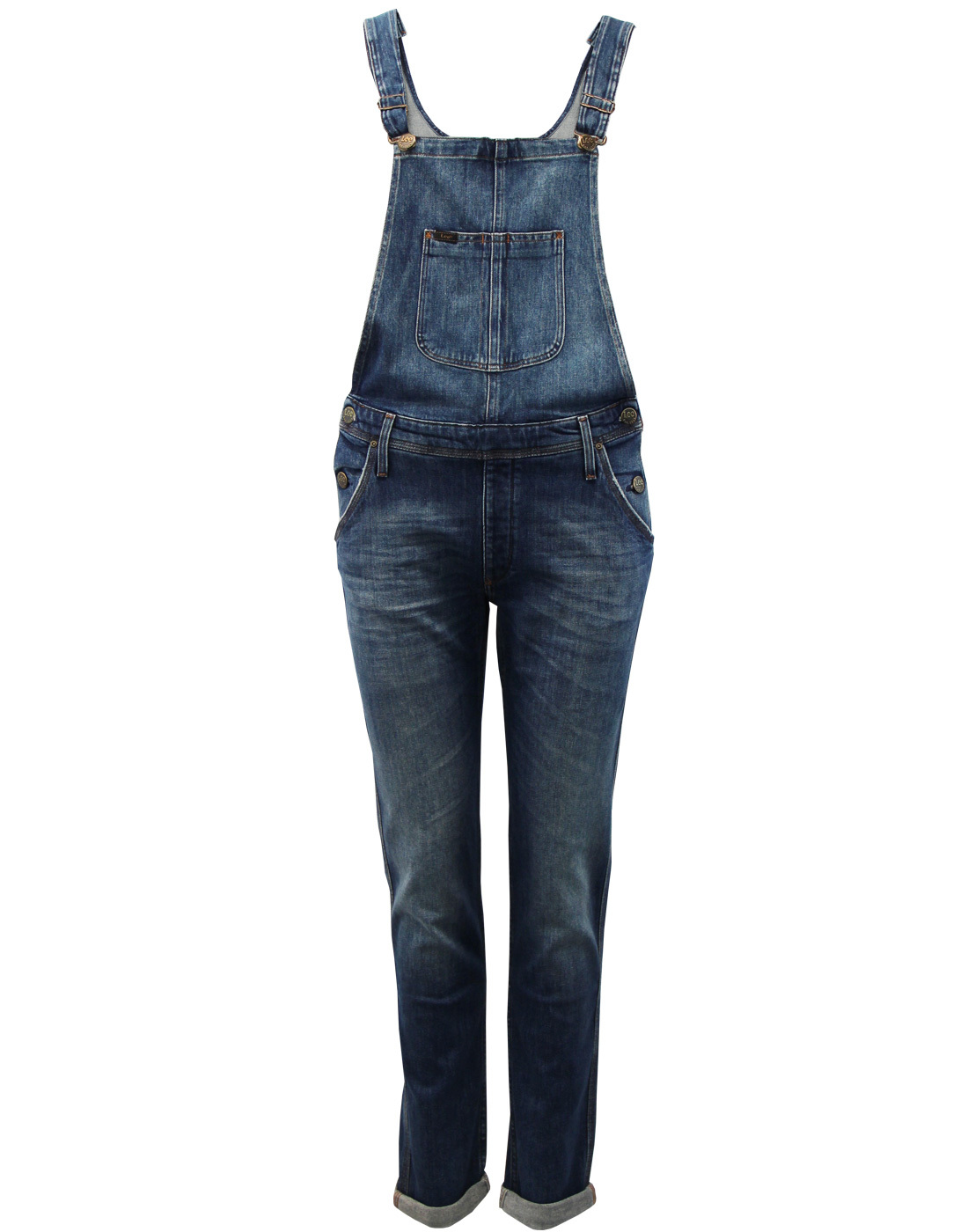 LEE Retro 70s Chelsea Aged Relaxed Bib Dungarees