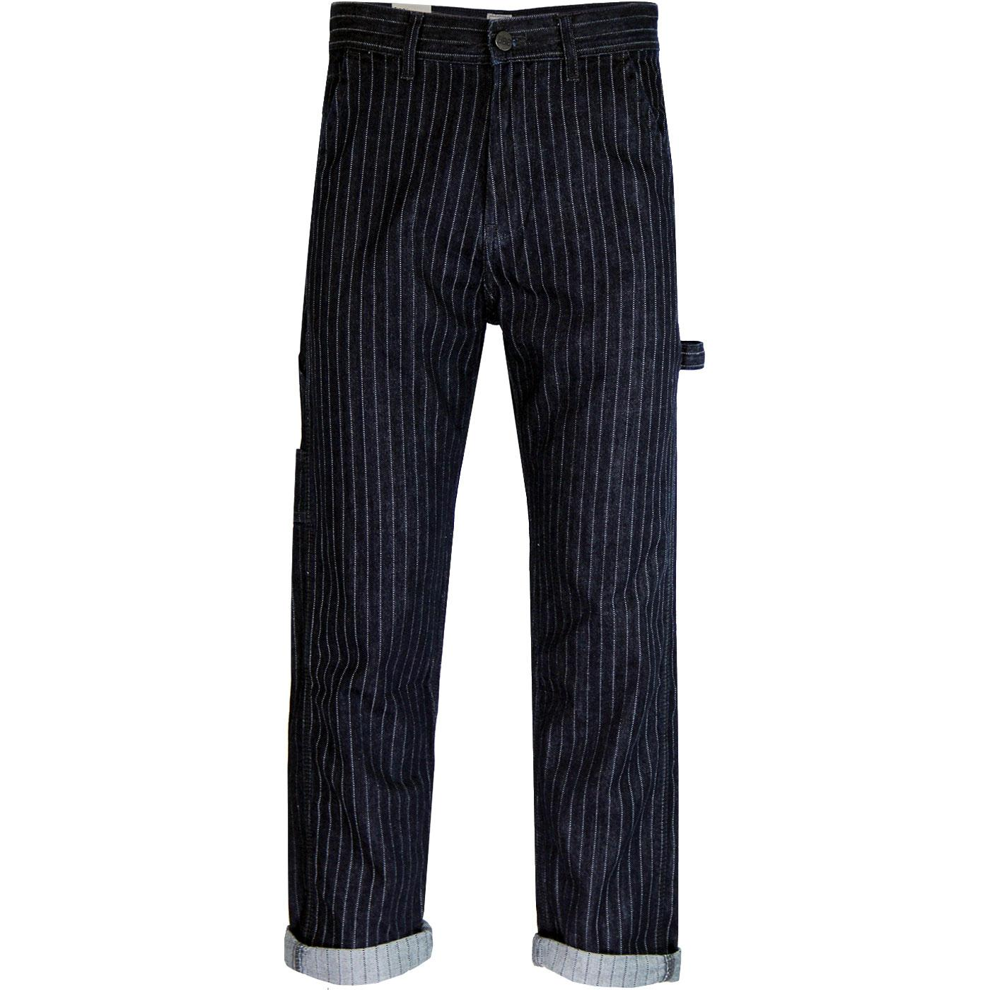 Carpenter LEE Loose & Straight Pinstripe Jeans