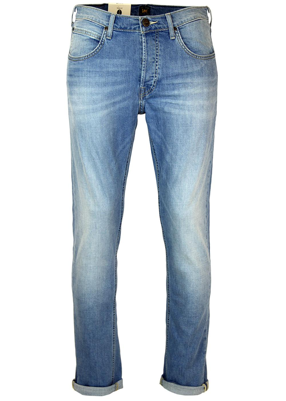 Daren LEE Retro Mod Regular Slim Denim Jeans (CO)