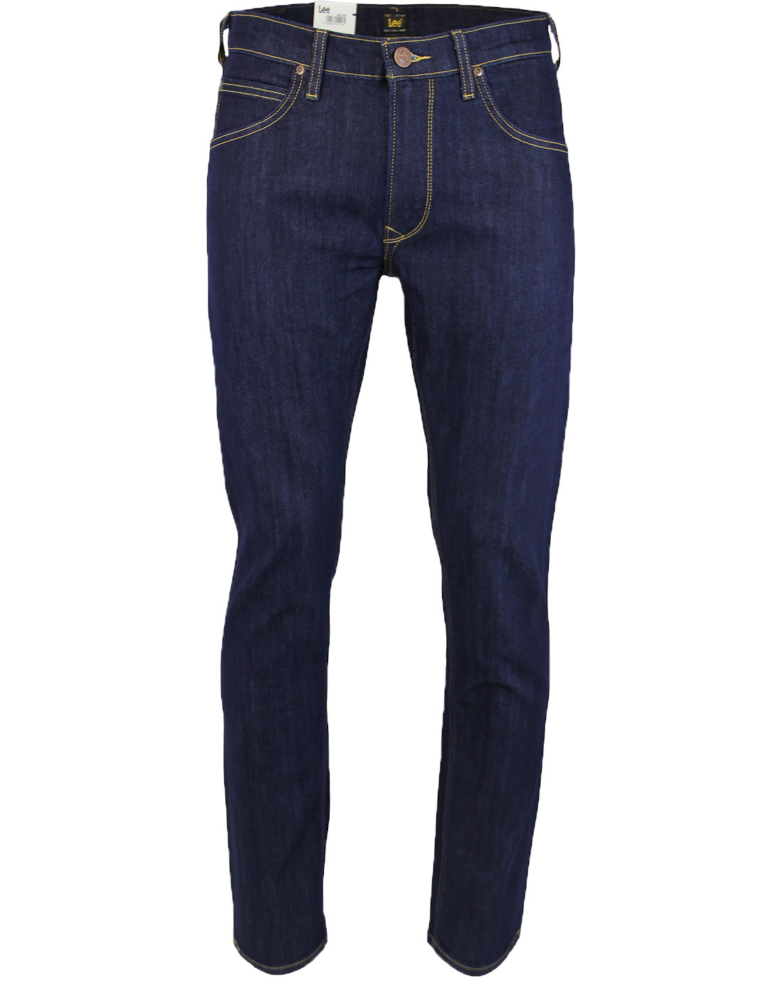 Daren LEE Retro Zip Fly Slim Leg Royal Rinse Jeans