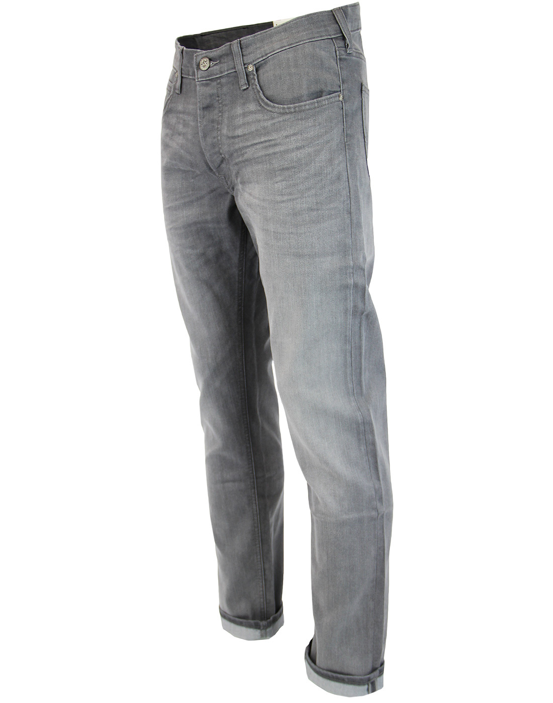 7ecebee0 LEE Daren Retro Slim Leg Denim Jeans in Storm Grey