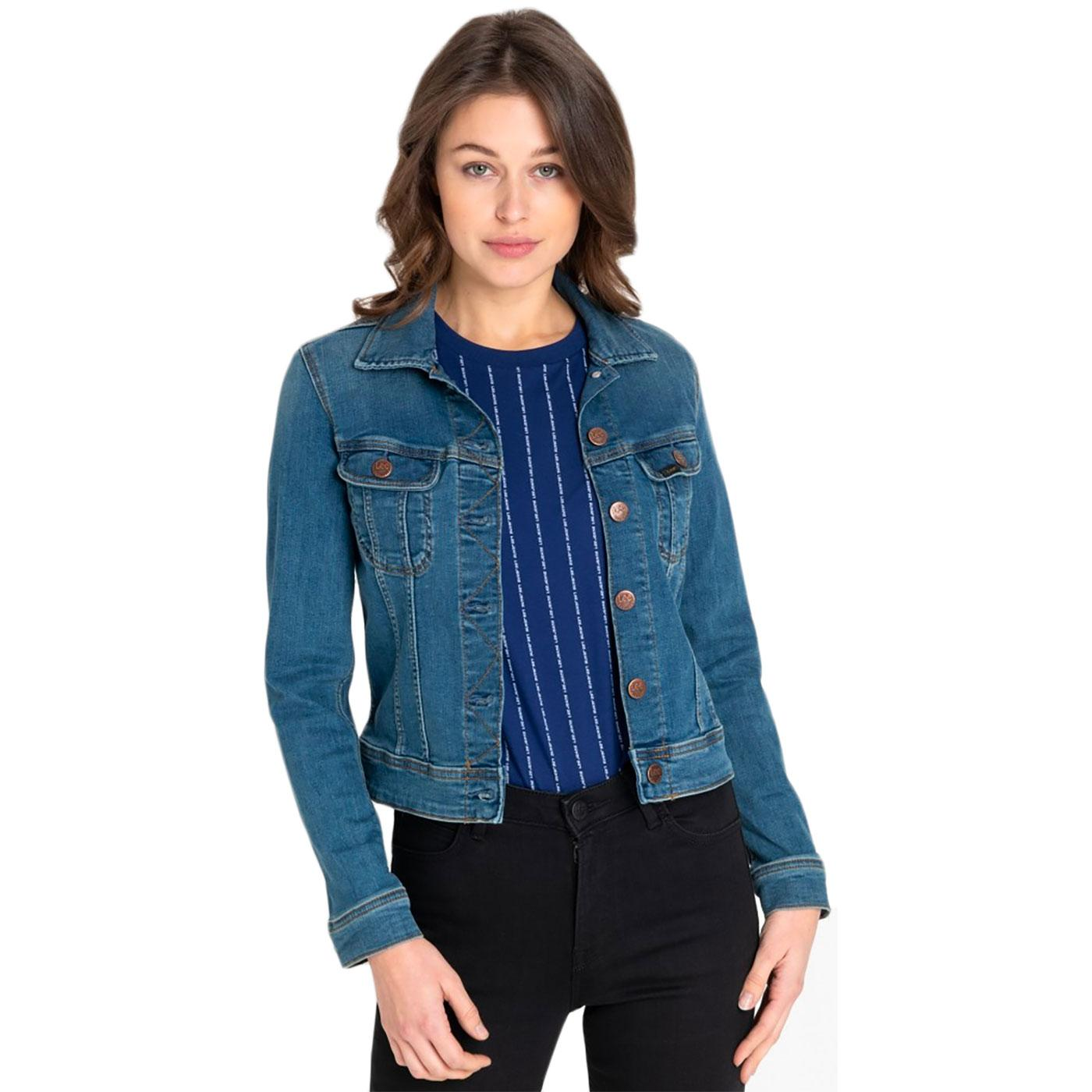 LEE JEANS Slim Rider Women's Retro Denim Jacket NN