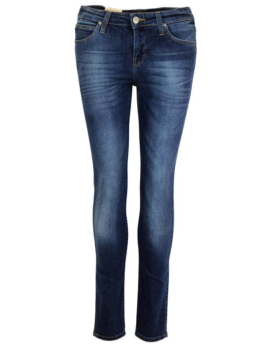 Scarlett LEE Retro Night Sky Skinny Denim Jeans