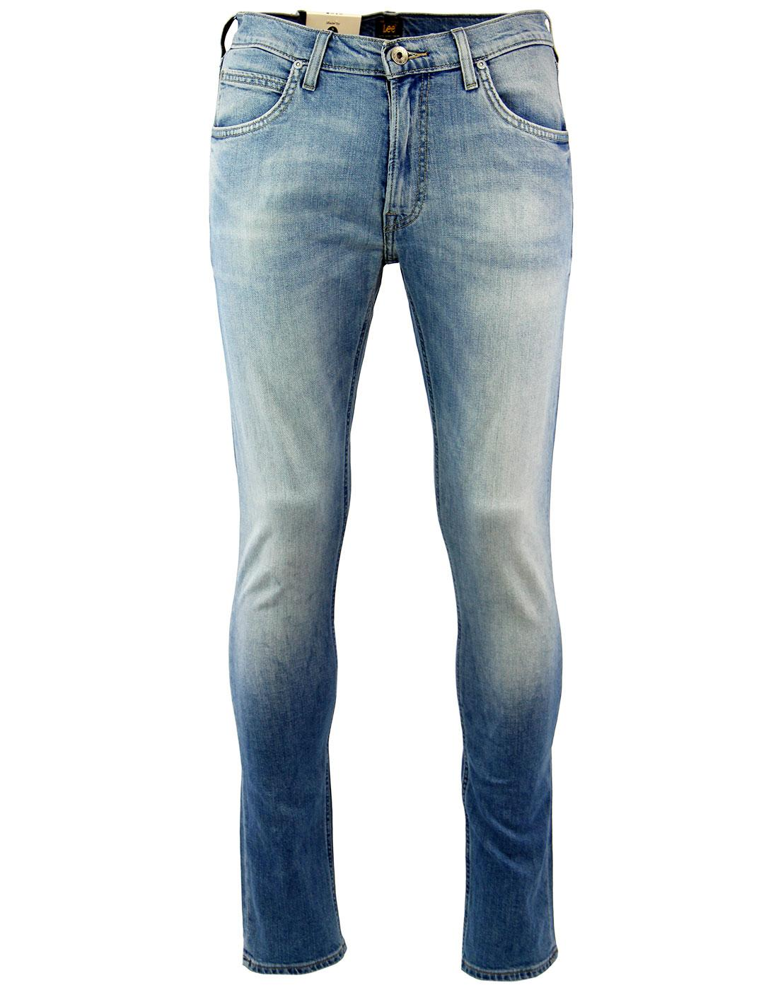 Luke LEE Slim Tapered Retro Beach Blue Denim Jeans