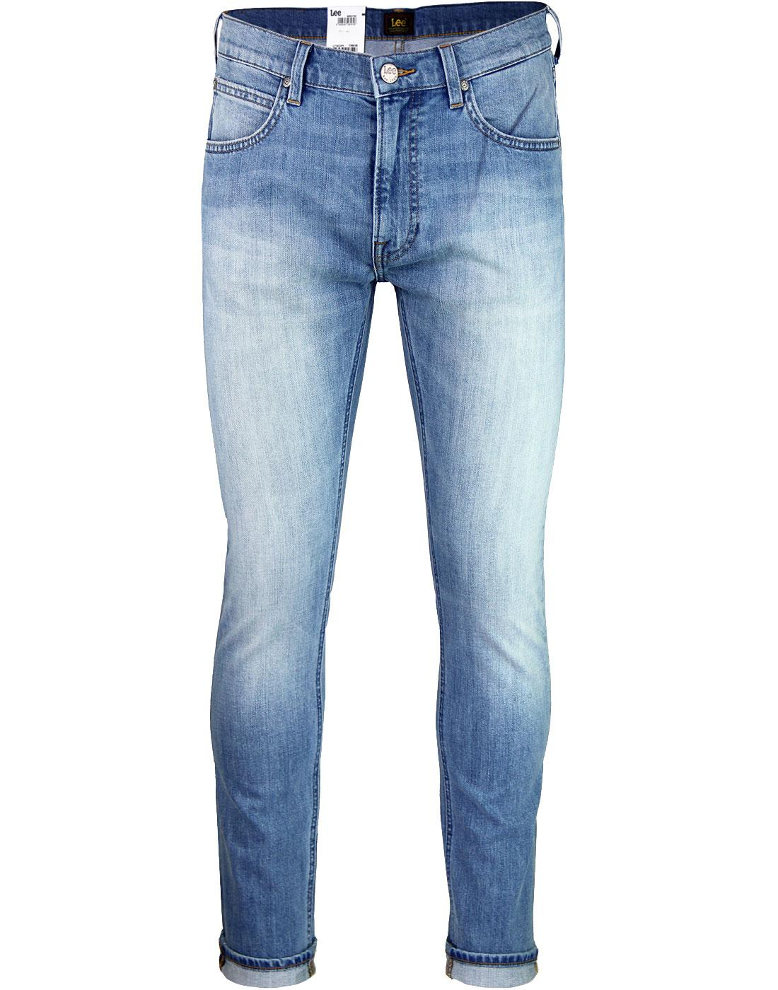 Luke LEE Slim Tapered Retro Denim Jeans KICK IT