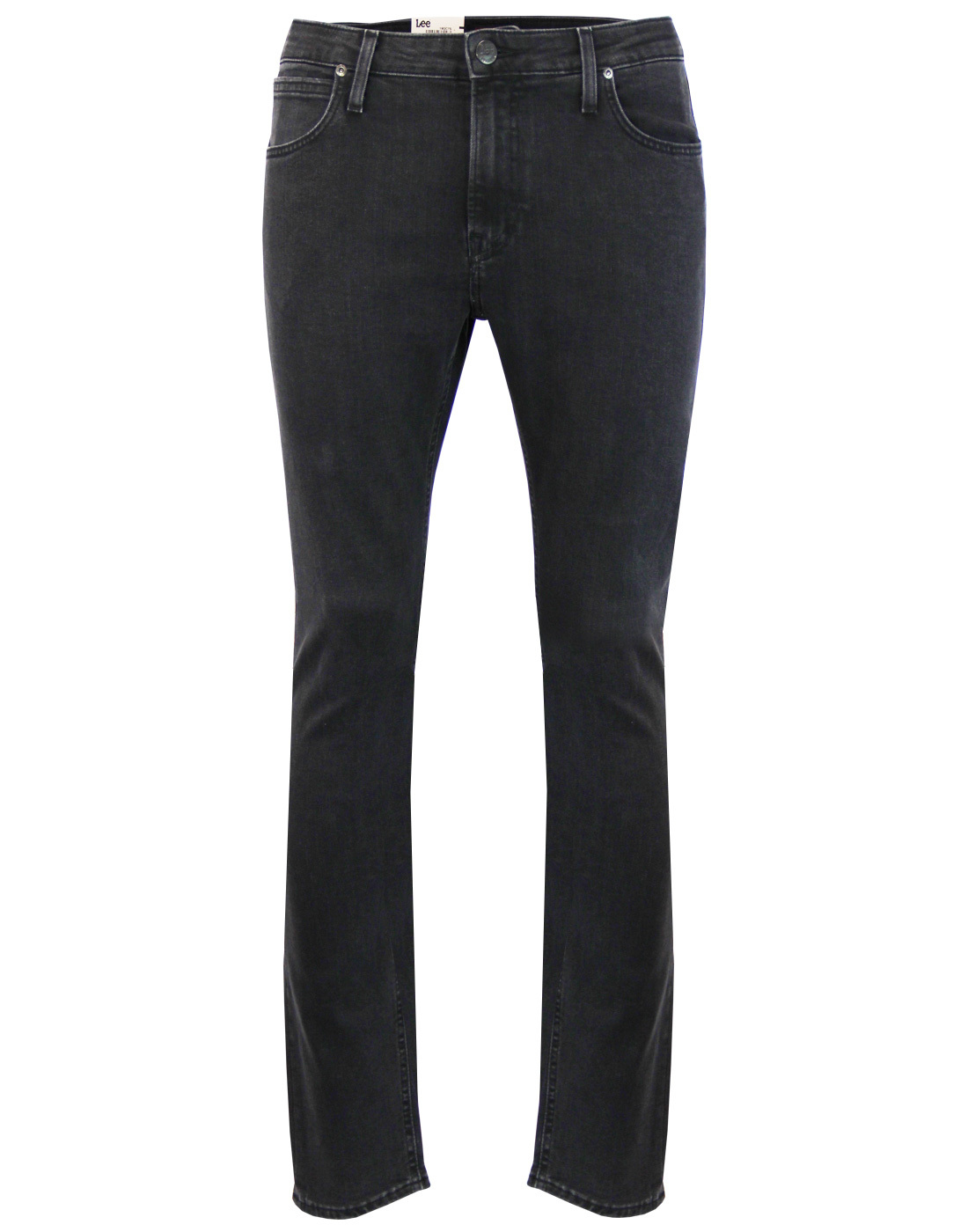Malone LEE Retro Mod Charcoal Powder Skinny Jeans
