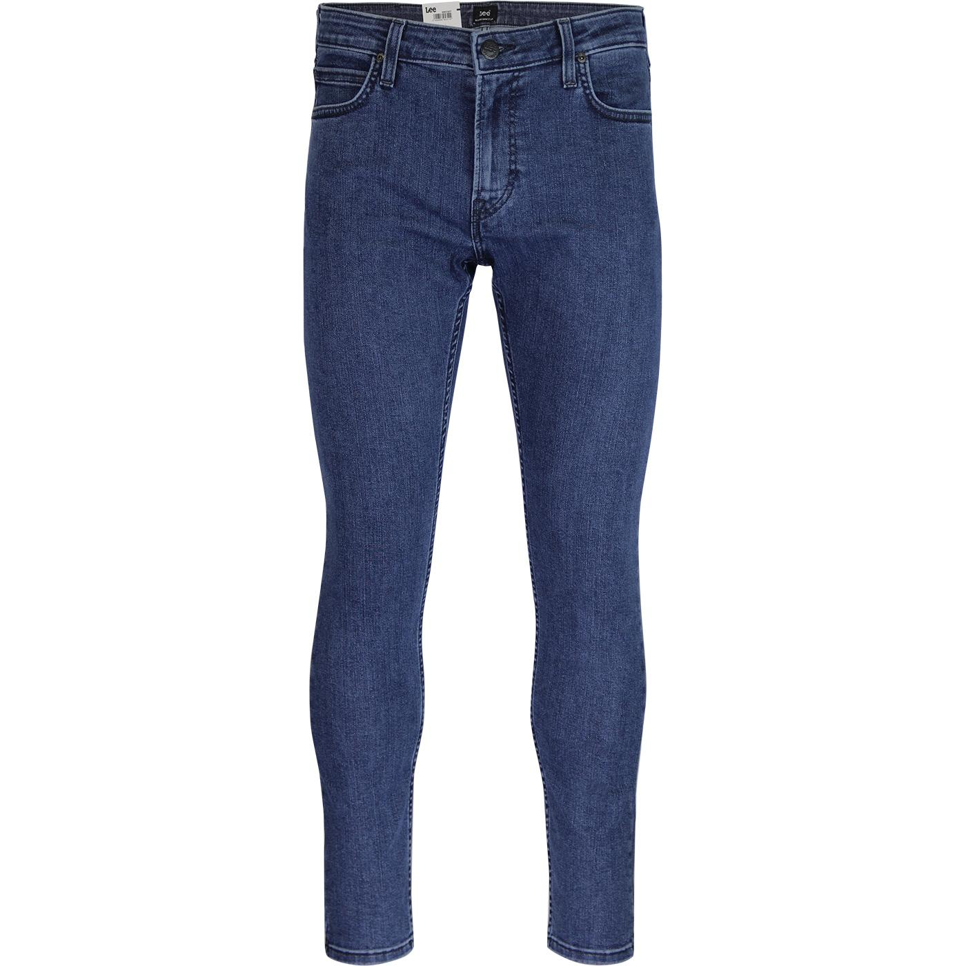 Malone LEE Retro Skinny Denim Jeans (Clean Summer)