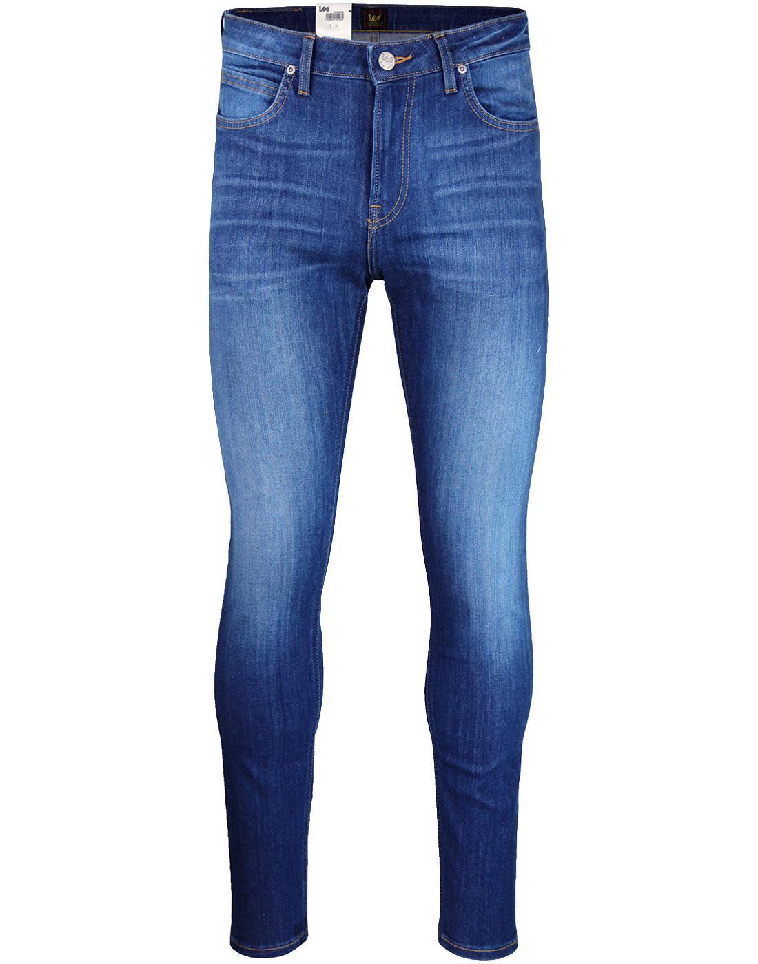 Malone LEE Men's Skinny Denim Jeans WORN MISFIT