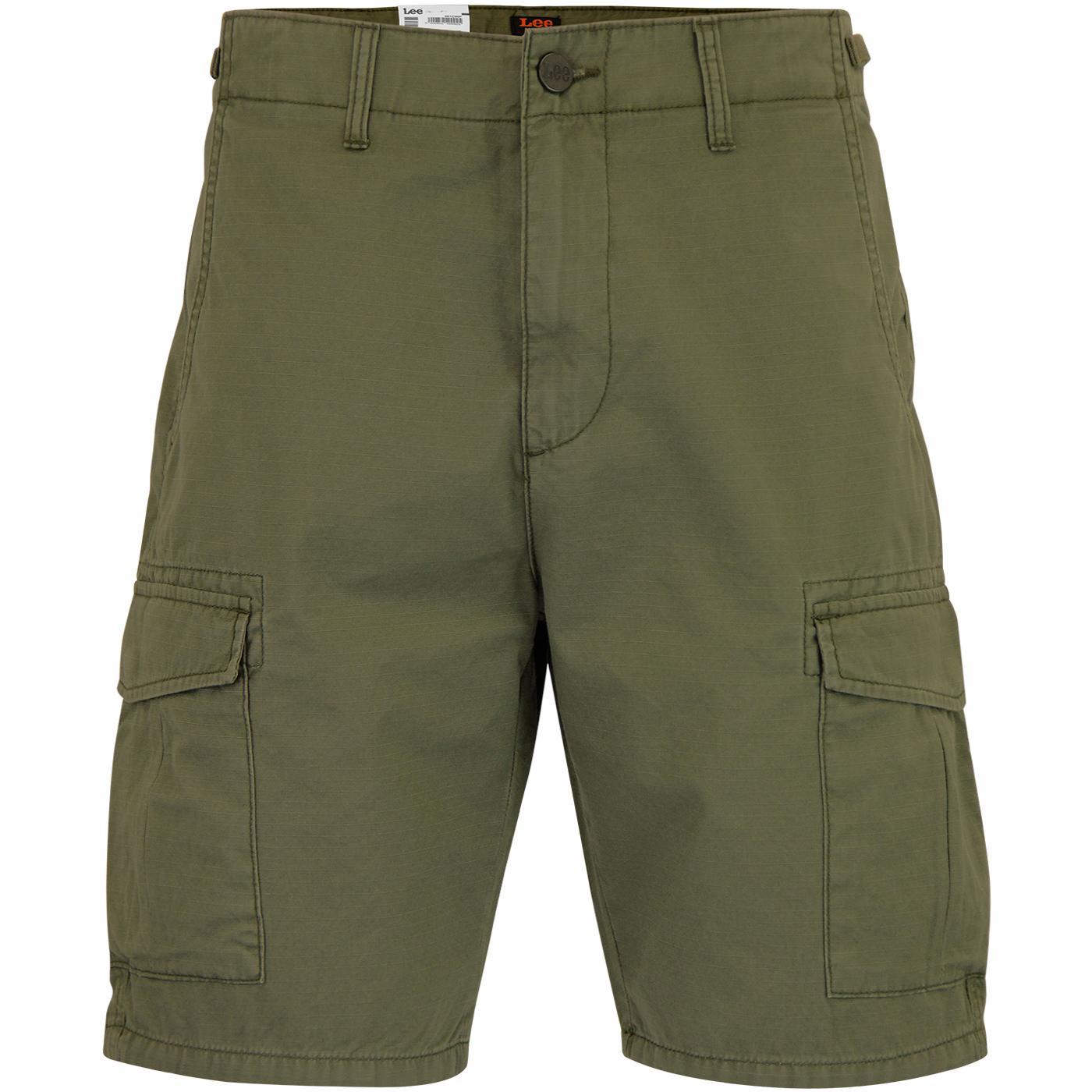 LEE JEANS Retro Military Fatigue Cargo Shorts (K)