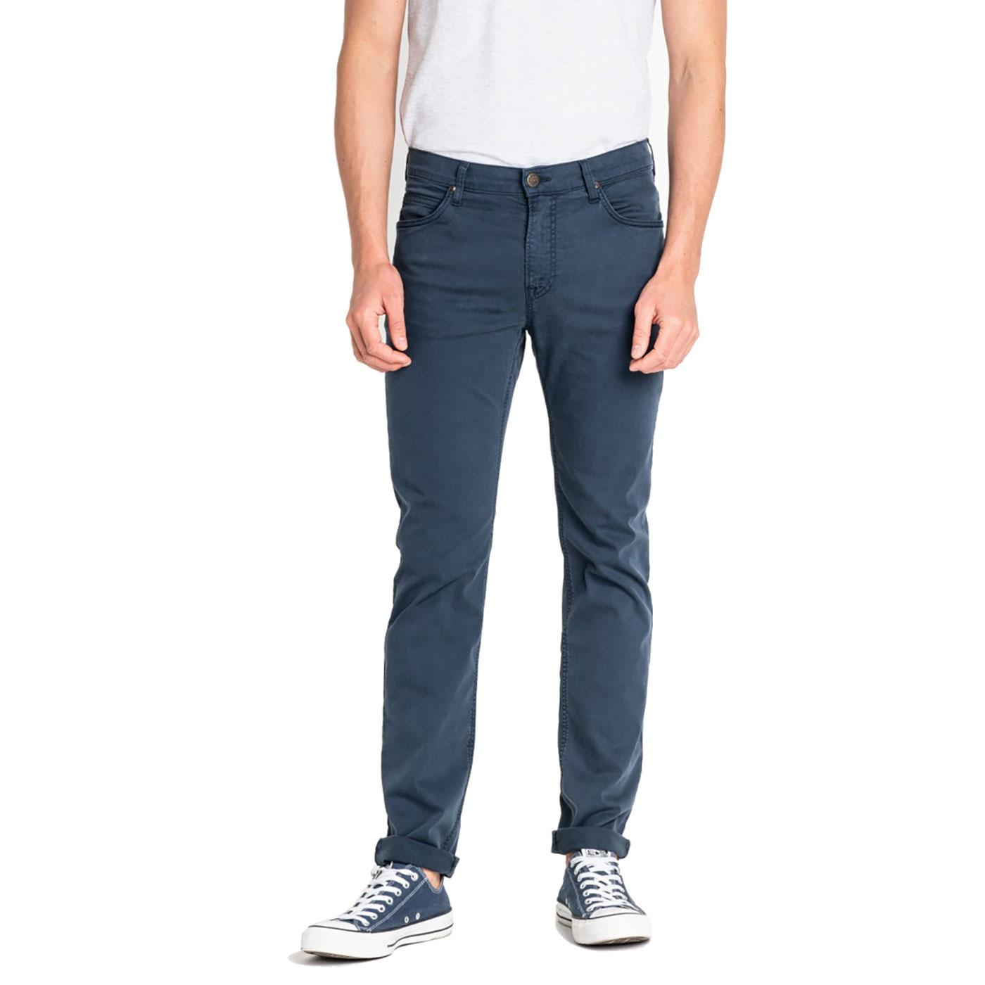 Rider LEE Men's Retro Slim Leg Chino Jeans - NAVY