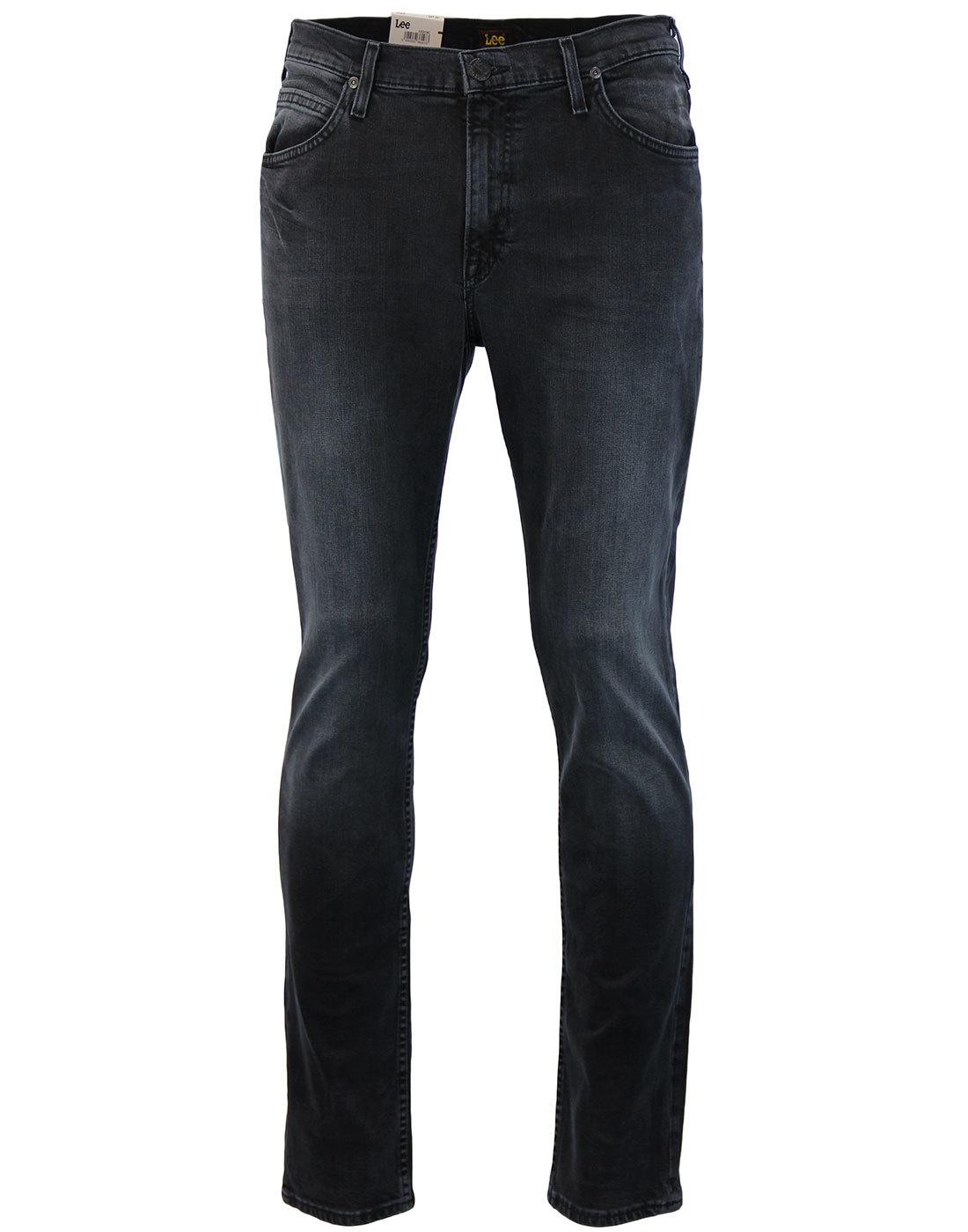 Rider LEE Retro Slim Leg Dark Raven Denim Jeans