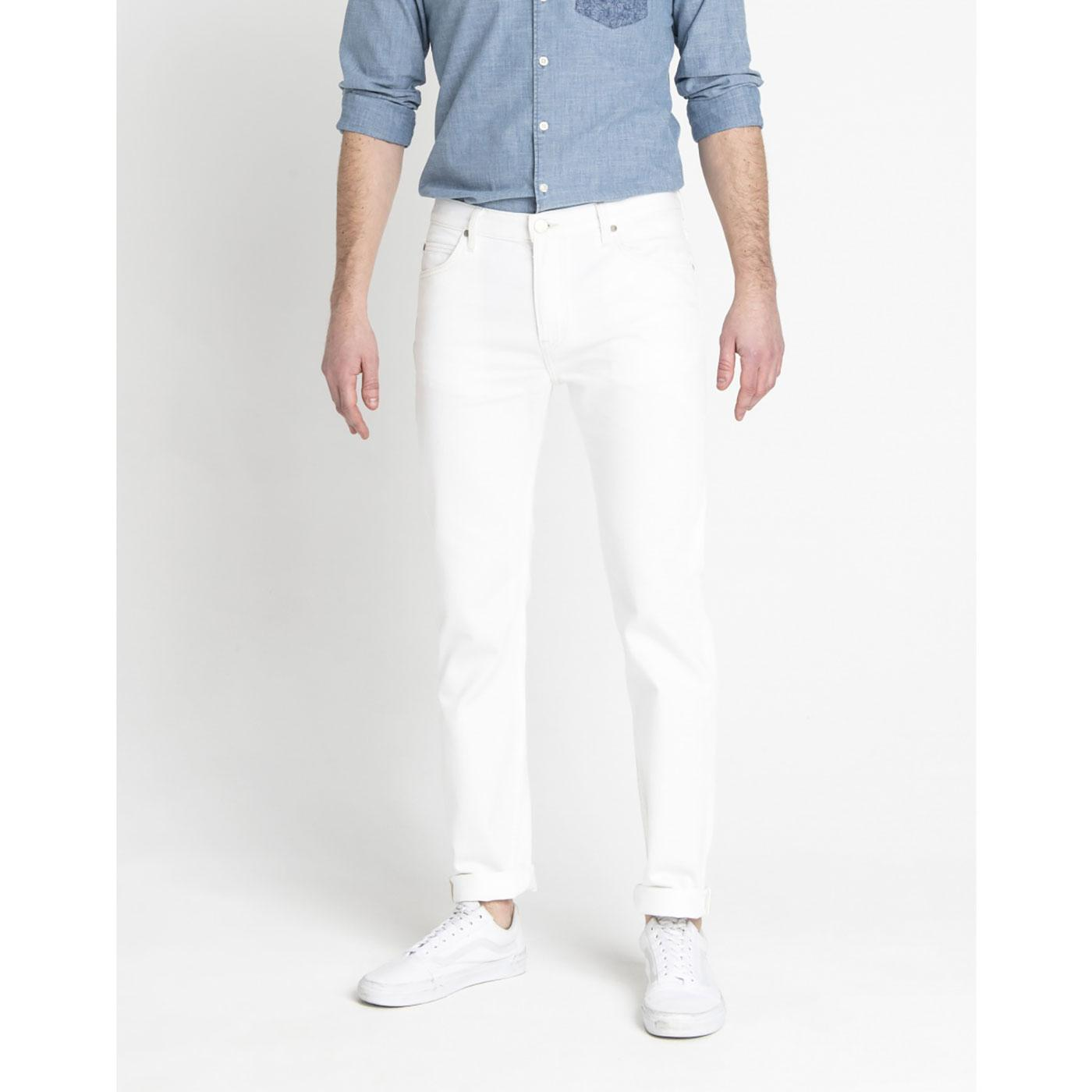 Rider LEE Slim Leg Retro Denim Jeans - Off White