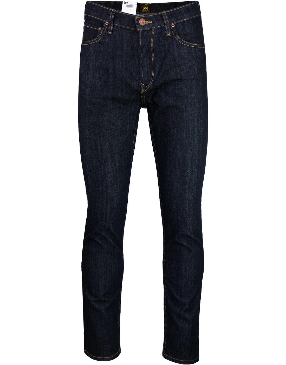 Rider LEE Slim Leg Retro Denim Jeans ONE WASH