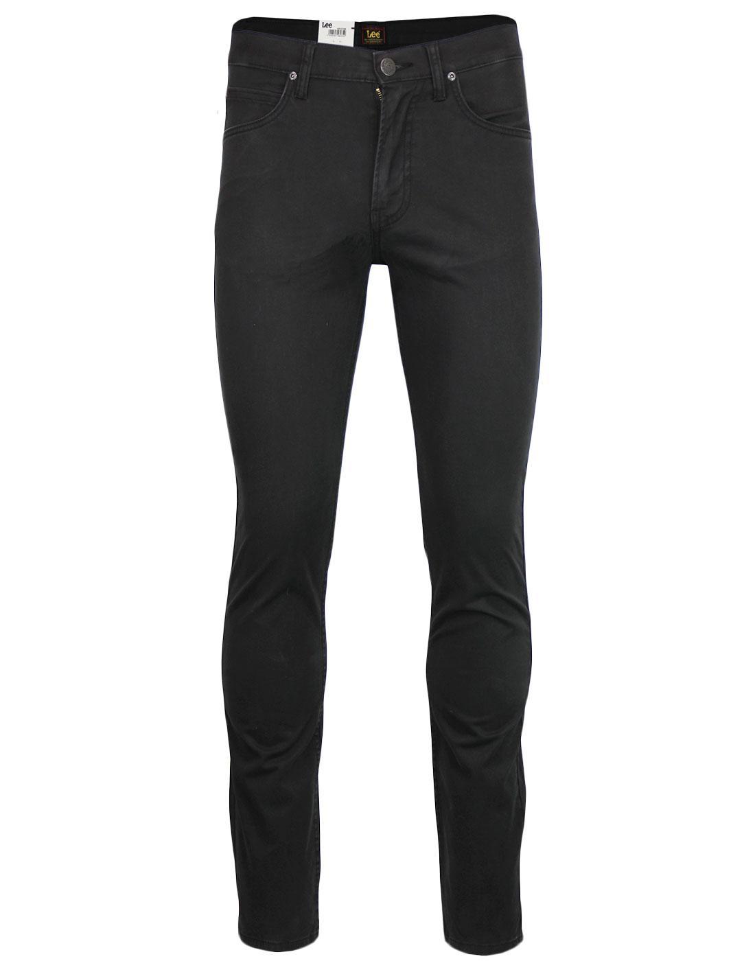 Rider LEE Slim Leg Retro Denim Jeans ANTHRACITE