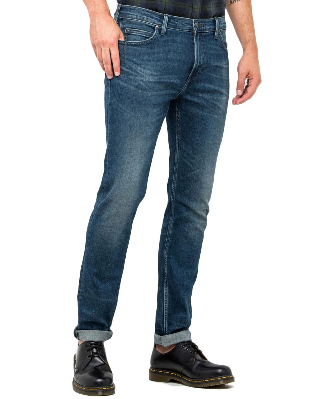 Rider Slim LEE Strummer Worn Stonewash Retro Jeans