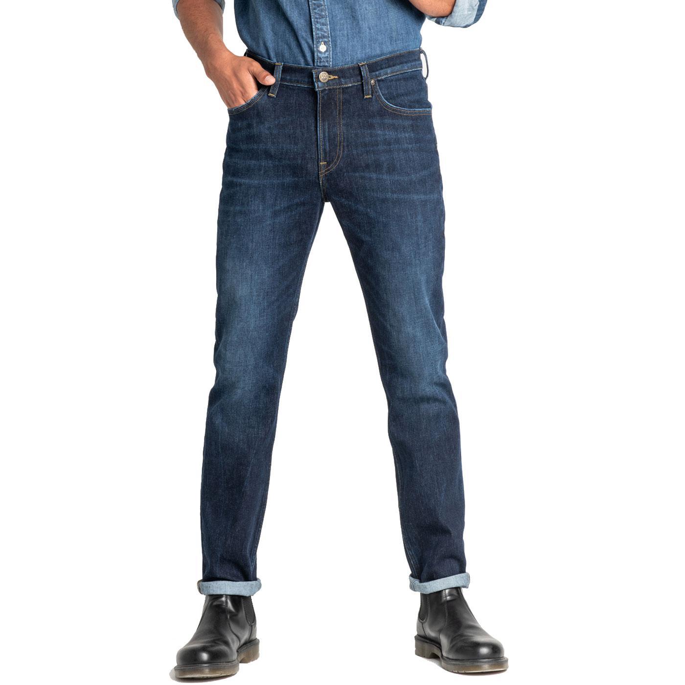 Slim Rider LEE JEANS Retro Denim Jeans DARK POOL