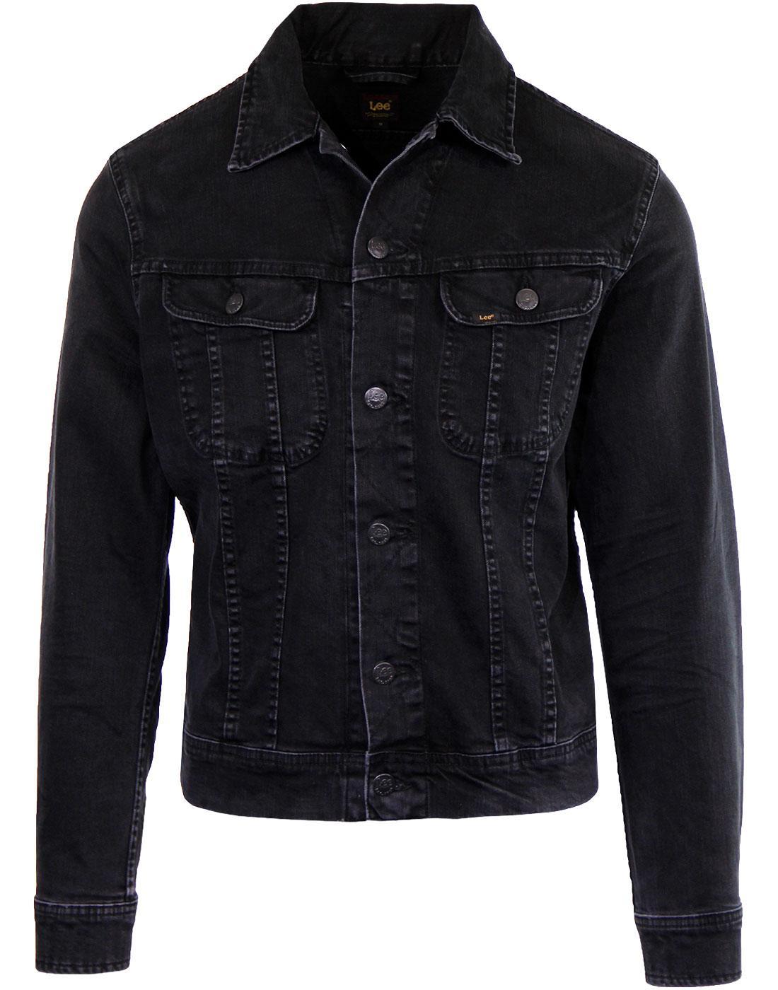 LEE Rider Retro Mod Slim Western Denim Jacket (DR)