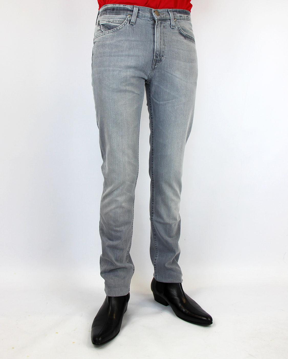 903fc3bc LEE JEANS Cain Retro Mod Washed Out Grey Skinny Jeans