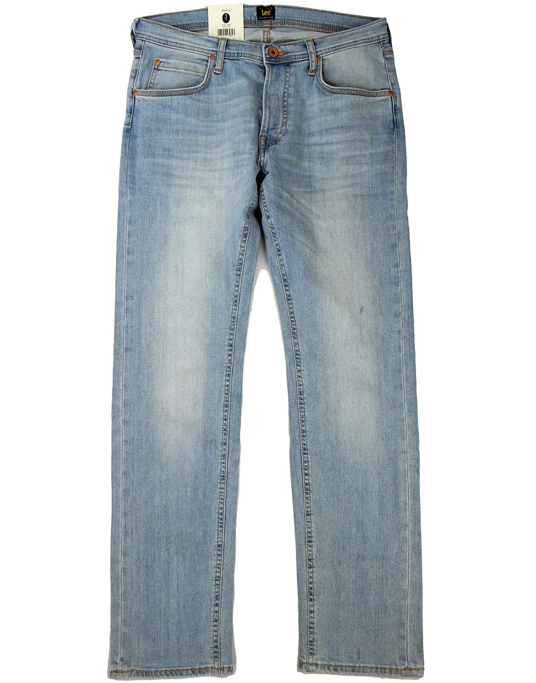 Daren LEE Regular Slim Summer Wind Denim Jeans