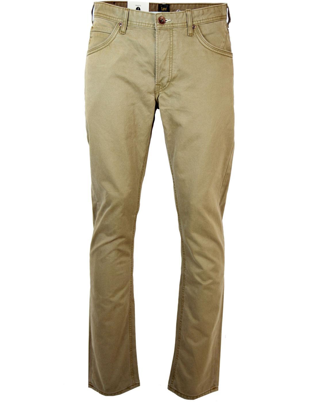 Daren LEE JEANS Retro Regular Slim Cotton Jeans
