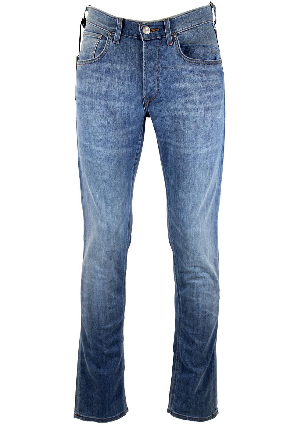 6987eb94 LEE JEANS Daren Retro Mod Regular Slim Fit Jeans Water Stone