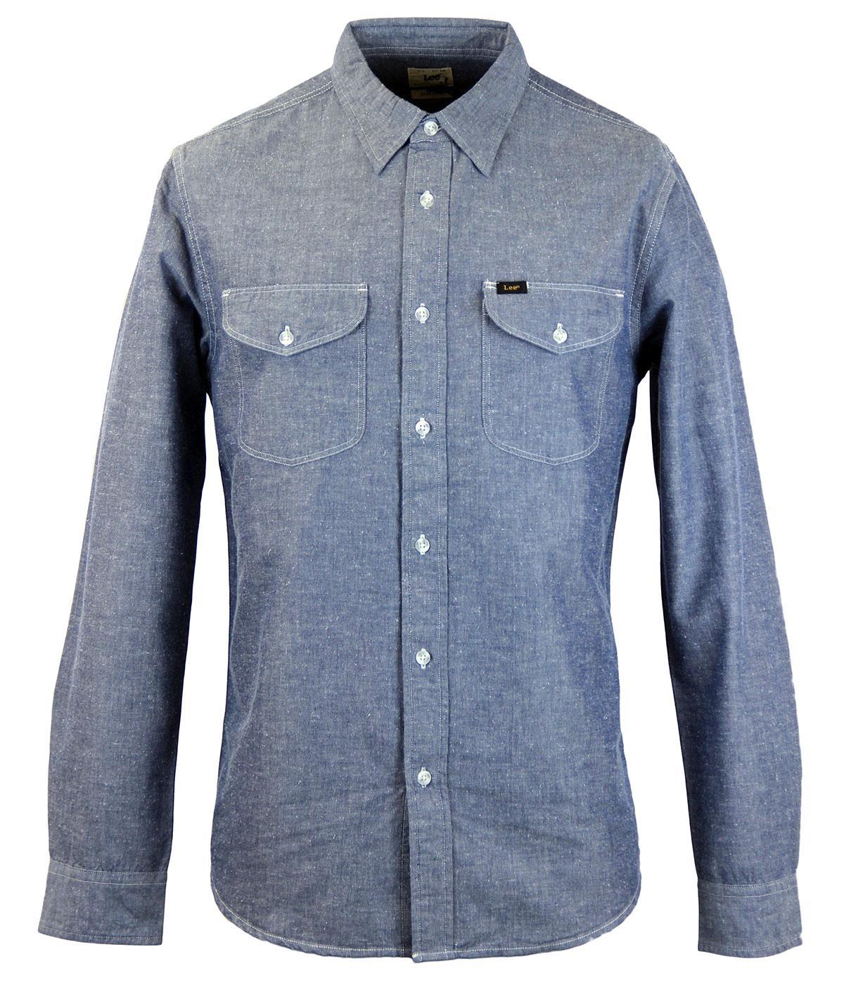 LEE Retro Mod Double Pocket Classic Worker Shirt N