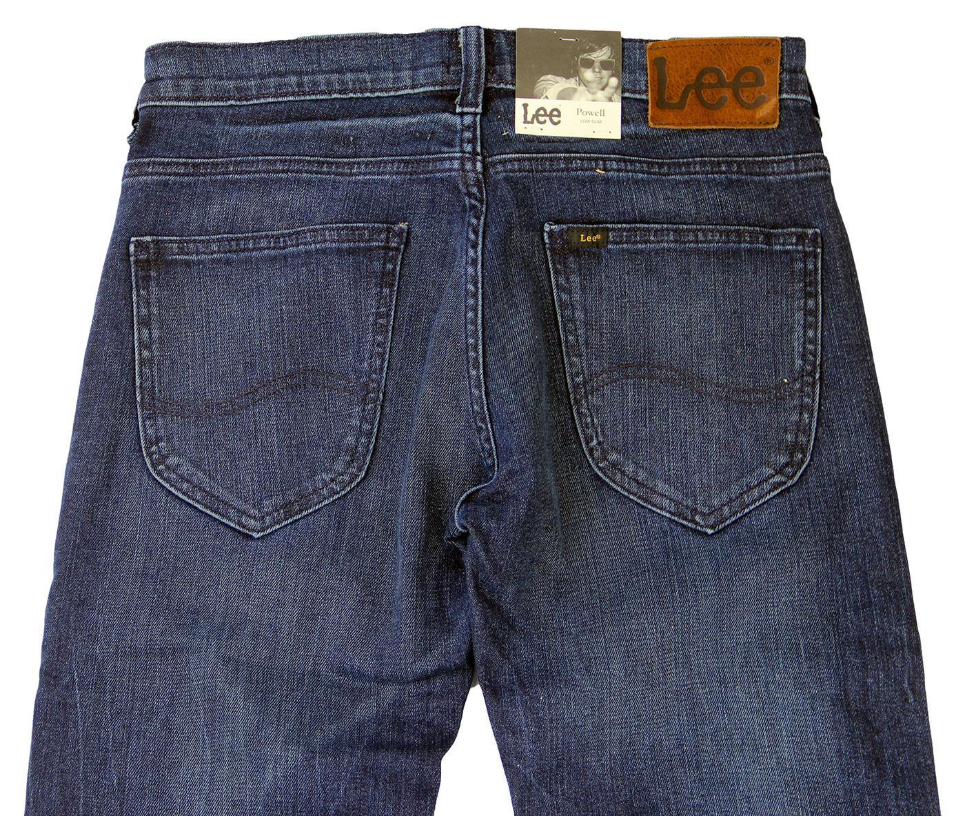 2936c3ed LEE JEANS Powell Retro Mod Low Slim Fit Jeans Night Sky Blue