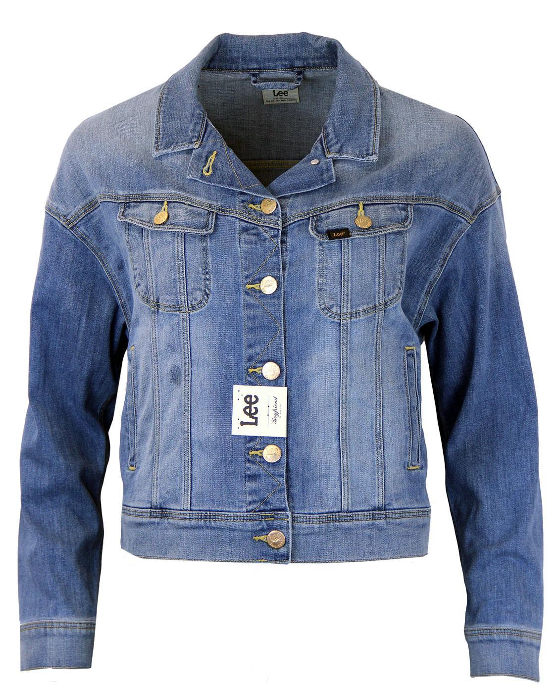 LEE Retro Indie Boyfriend Fit Denim Rider Jacket