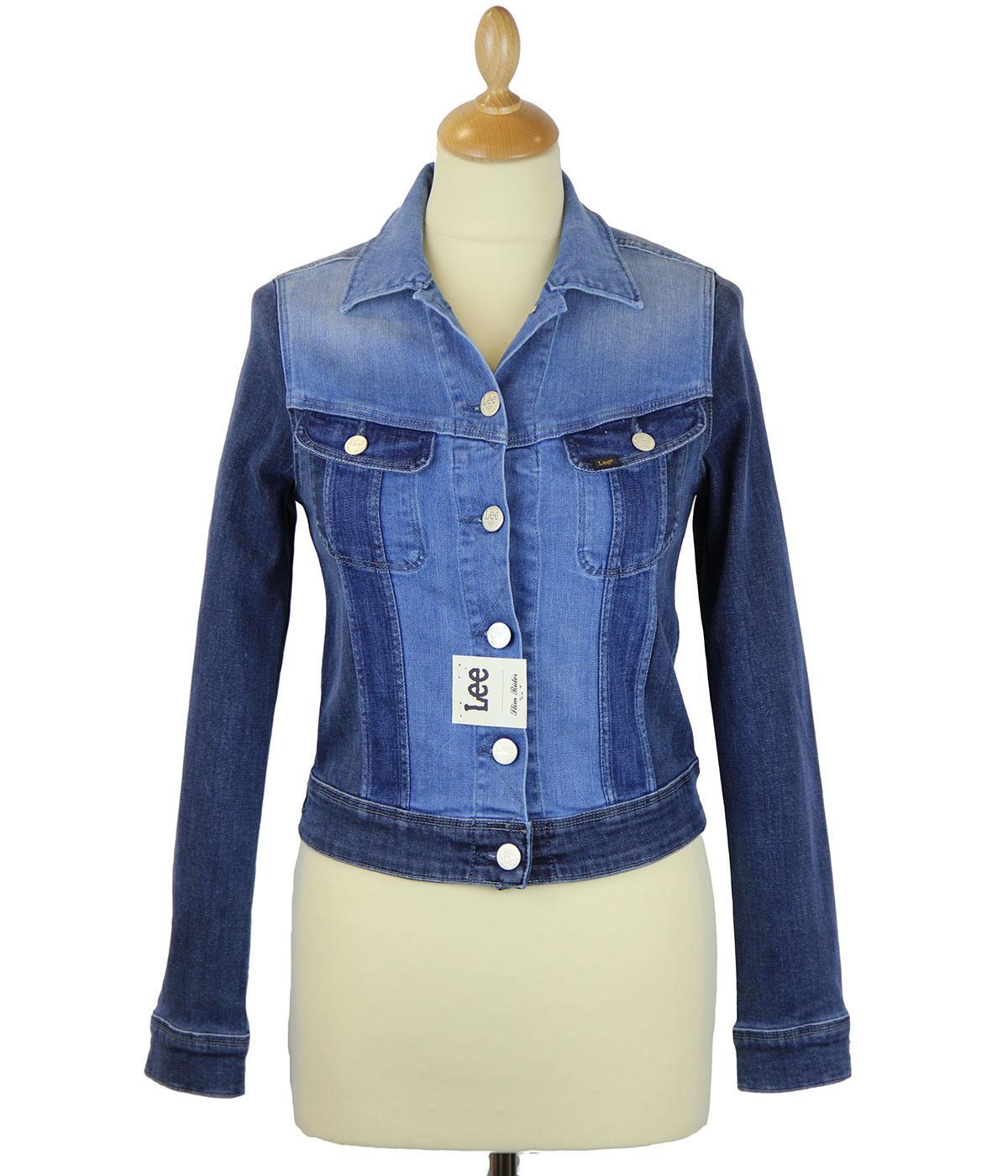 Slim Rider LEE Shades of Blue Retro Denim Jacket