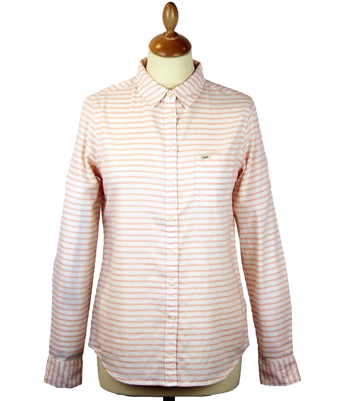 LEE Retro Horizontal Stripe Relaxed Fit Shirt (PB)