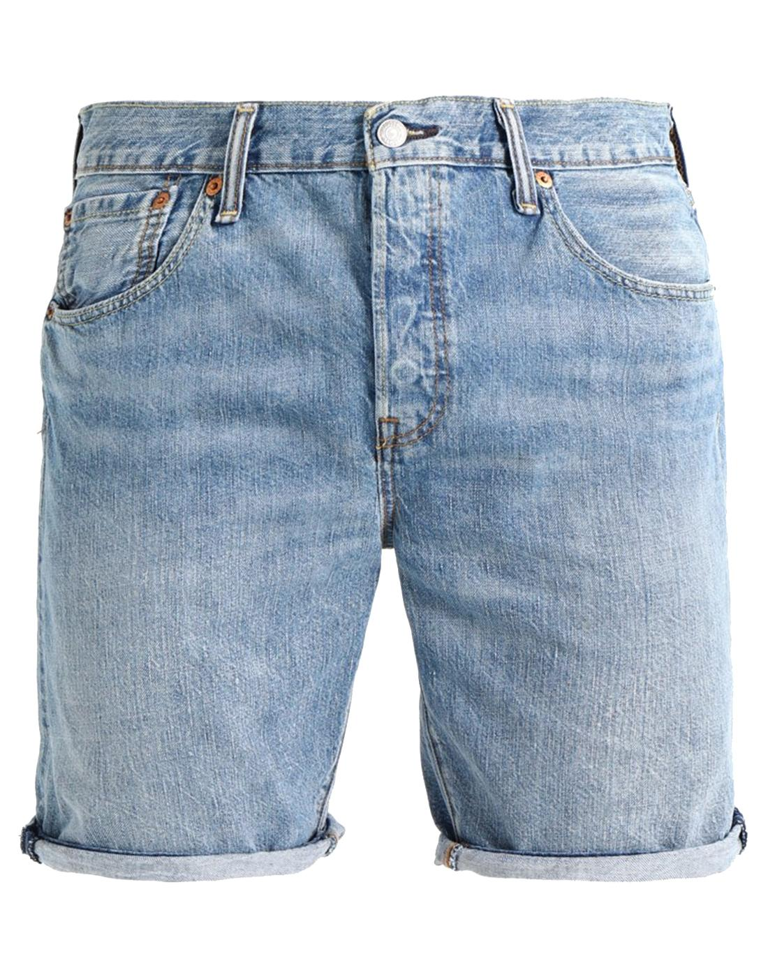 LEVI'S® 501 Men's Hemmed Denim Shorts LIVIN EASY