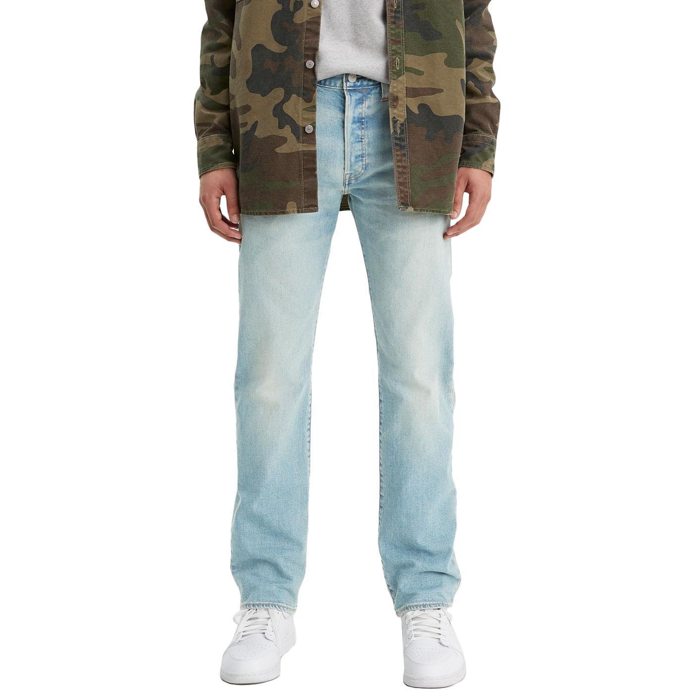 LEVI'S 501 Original Straight Jeans CONEFLOWER TINT