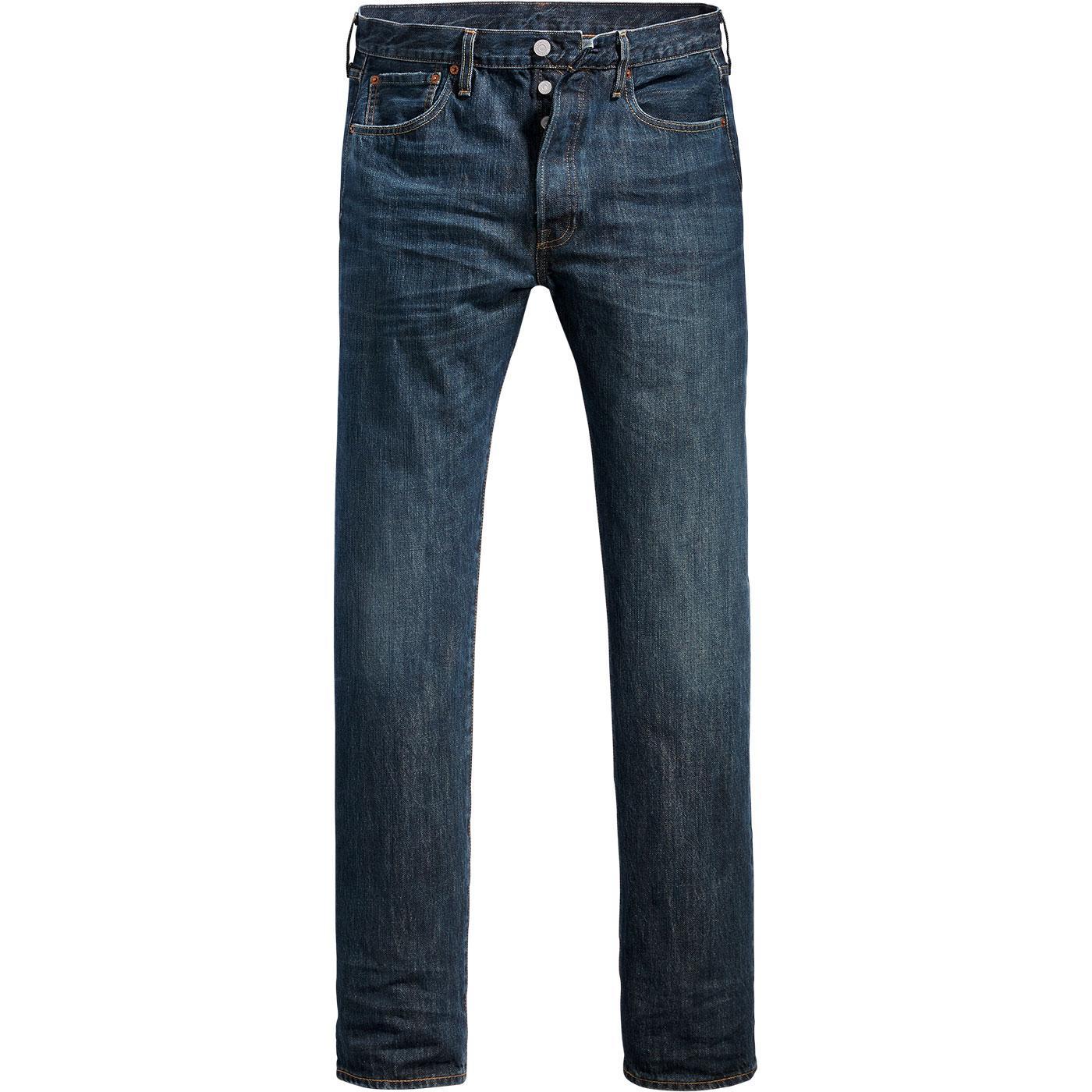 LEVI'S 501 Original Straight Denim Jeans (Snoot)