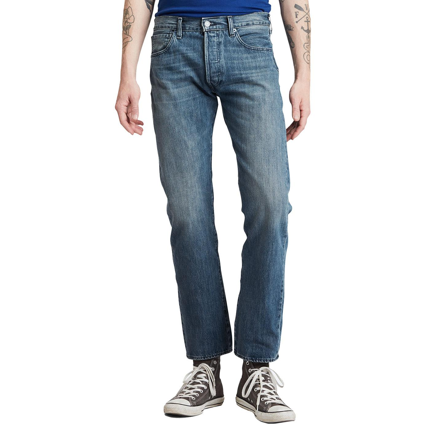 LEVI'S 501 Original Straight Denim Jeans TB
