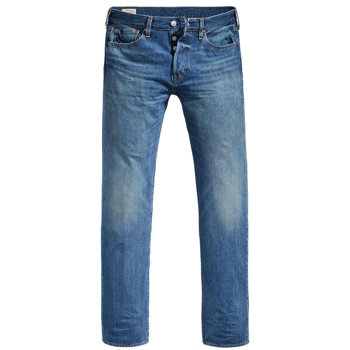 LEVI'S 501 Mod Original Straight Jeans BUBBLES ST.