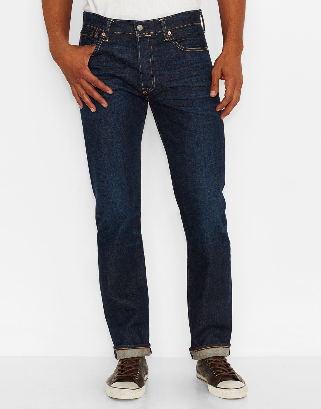 LEVI'S® 501 Original Straight Jeans - Blue Lane