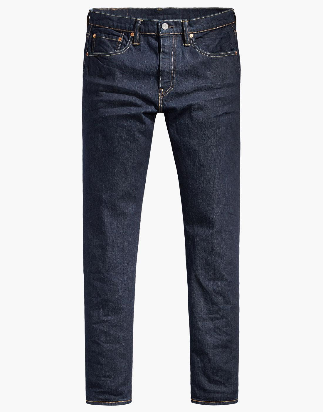 LEVI'S 502 Regular Tapered Denim Jeans CHAIN RINSE