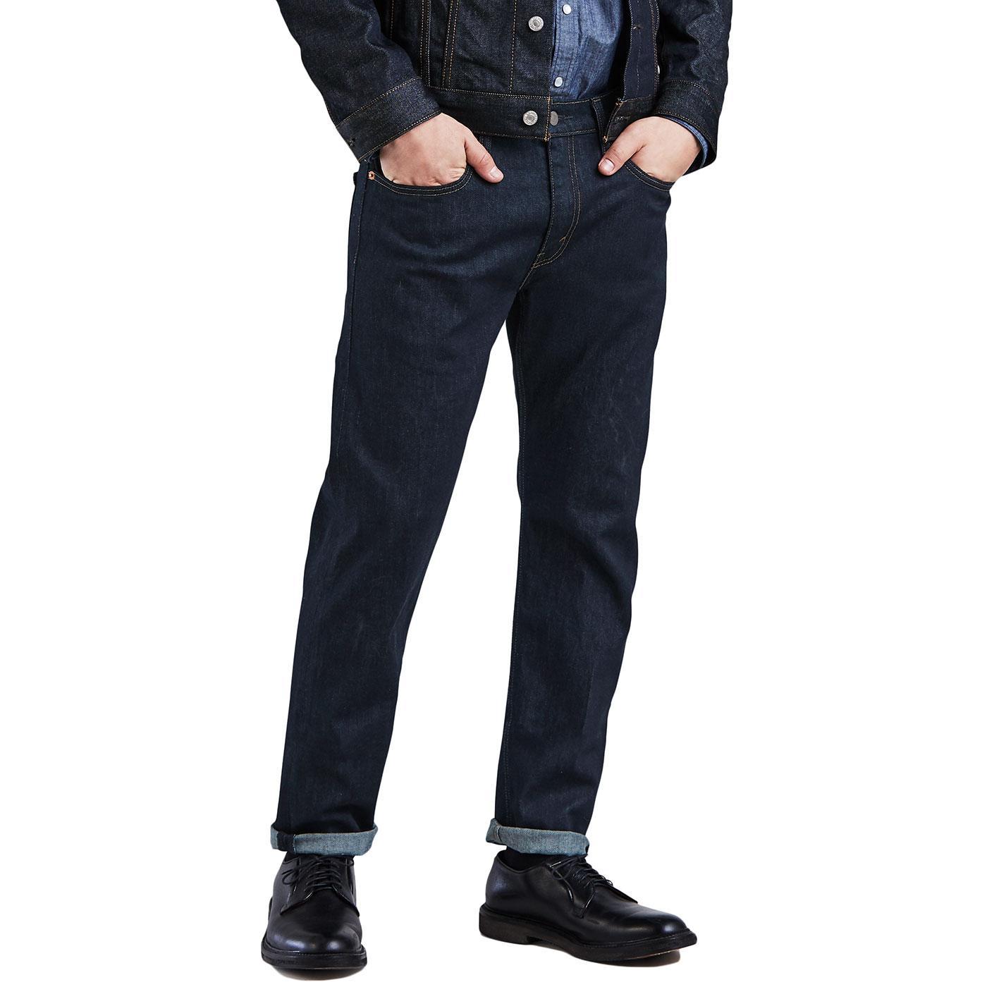 LEVI'S 502 Regular Taper Jeans (Midnight Carbon)