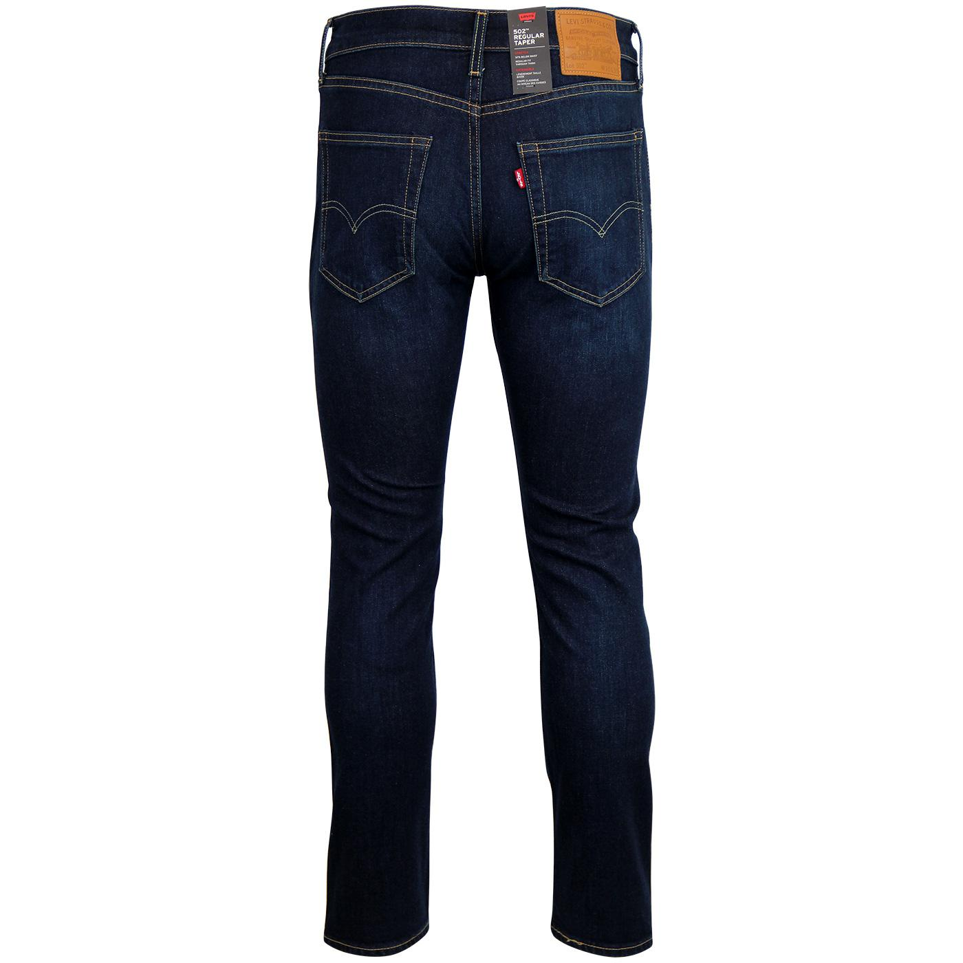 af4db04246d LEVI'S 502 Regular Tapered Mod Denim Jeans in Biology