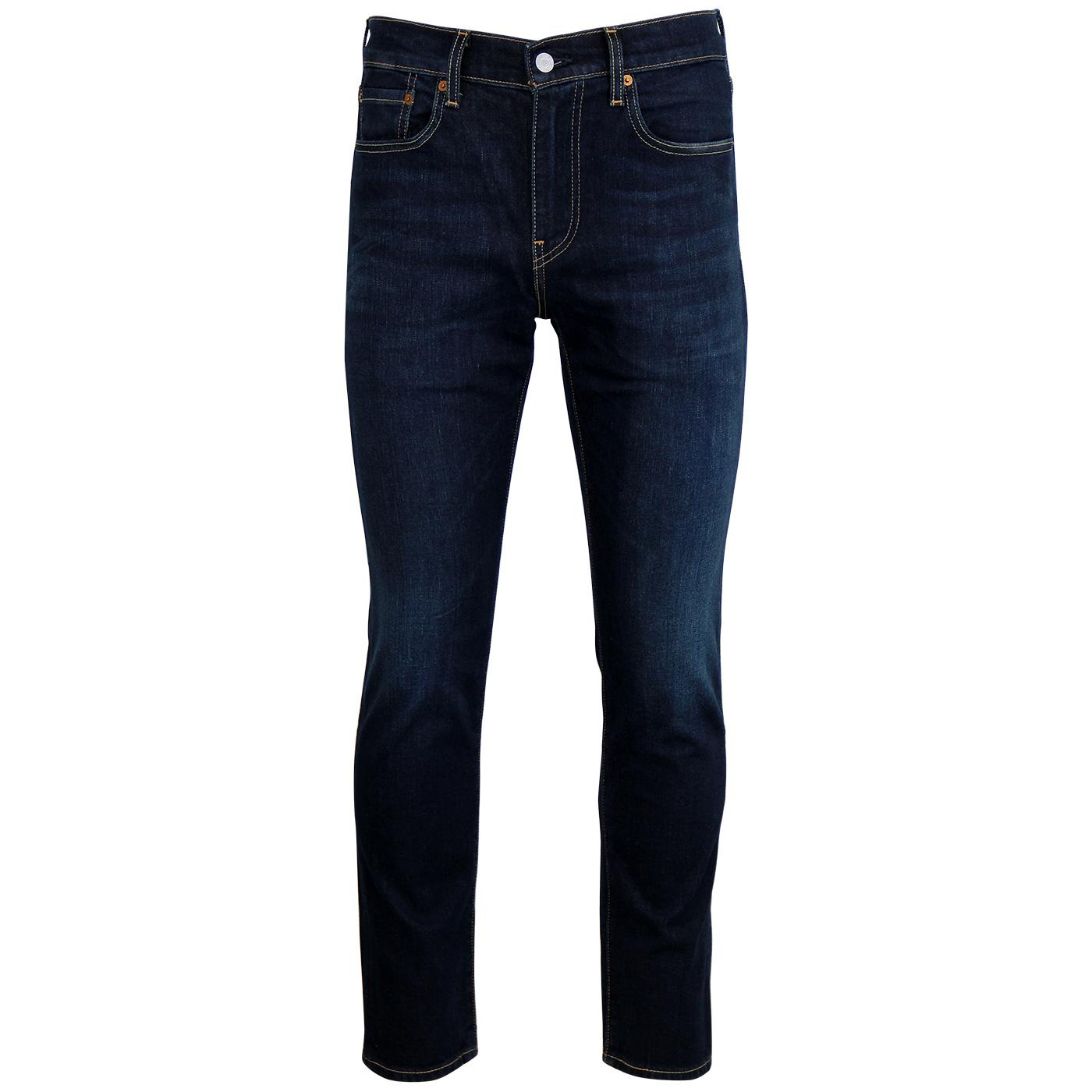 bf3d4a35 LEVI'S 502 Regular Tapered Mod Denim Jeans in Biology