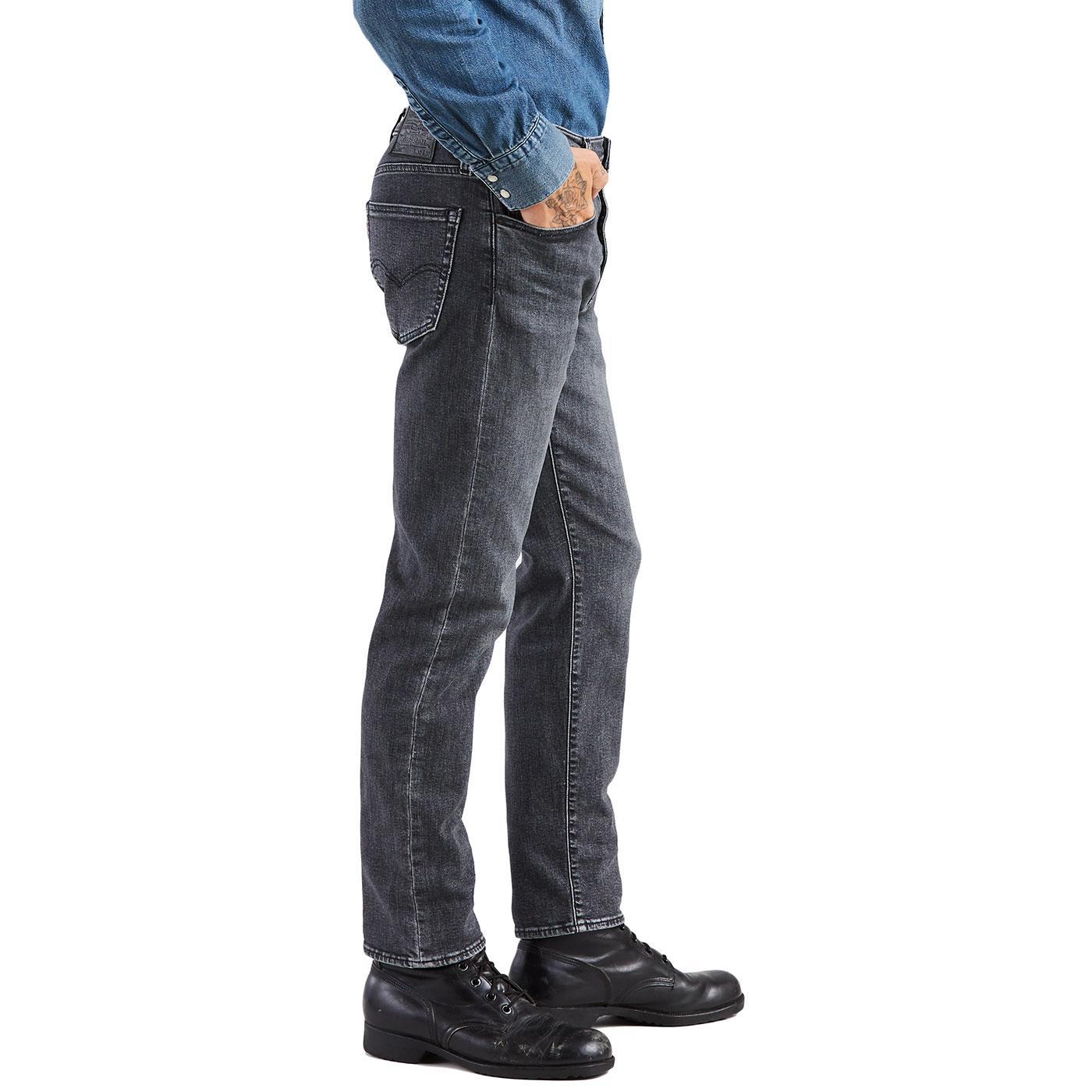 51f9ee41fd1 LEVI'S 502 Regular Taper Stretch Denim Jeans Gobbler Adv
