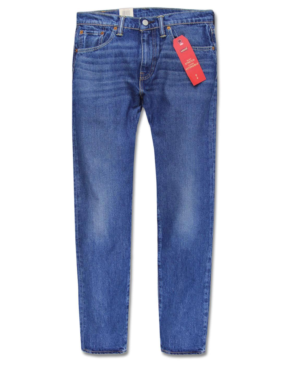 LEVI'S 502 Regular Tapered Denim Jeans MID CITY