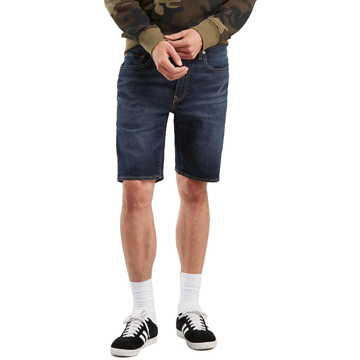 LEVI'S 502 Taper Denim Hemmed Shorts (Saturn T2)
