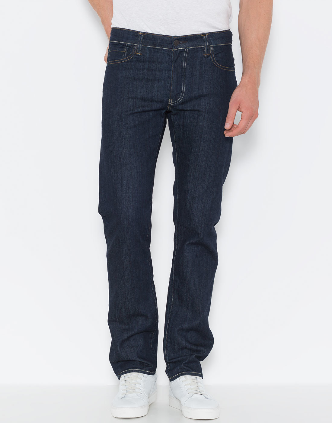 LEVI'S® 504 Regular Straight Jeans Worn Once Rinse
