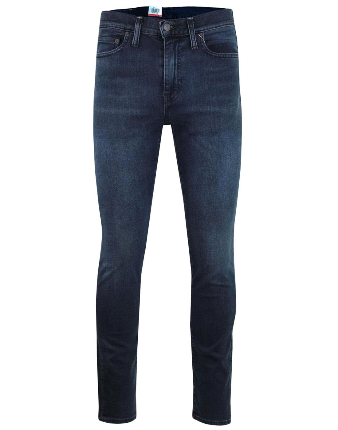 c80e6fcb LEVI'S 510 Retro Indie Mod Skinny Fit Jeans in Eyser Blue