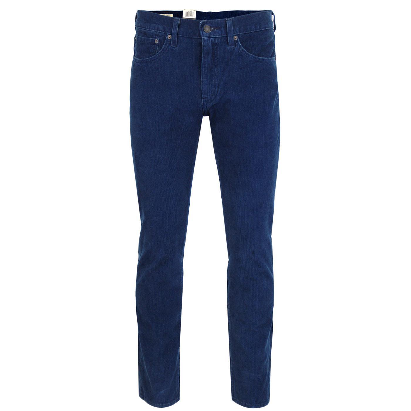 LEVI'S 511 Retro Mod Slim Cord Jeans (Indigo Mid)