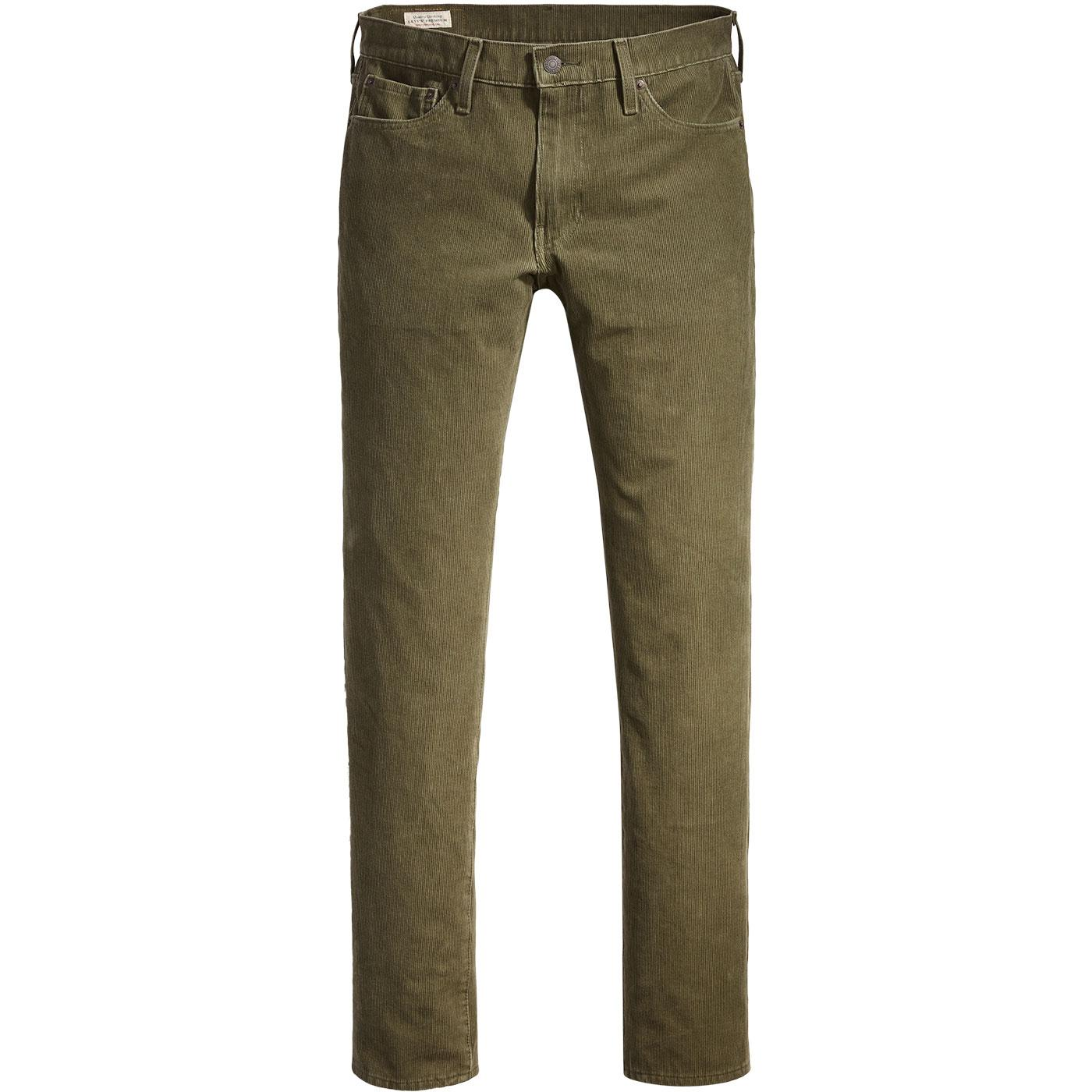LEVI'S 511 Retro Mod Slim Cord Jeans (Olive Night)