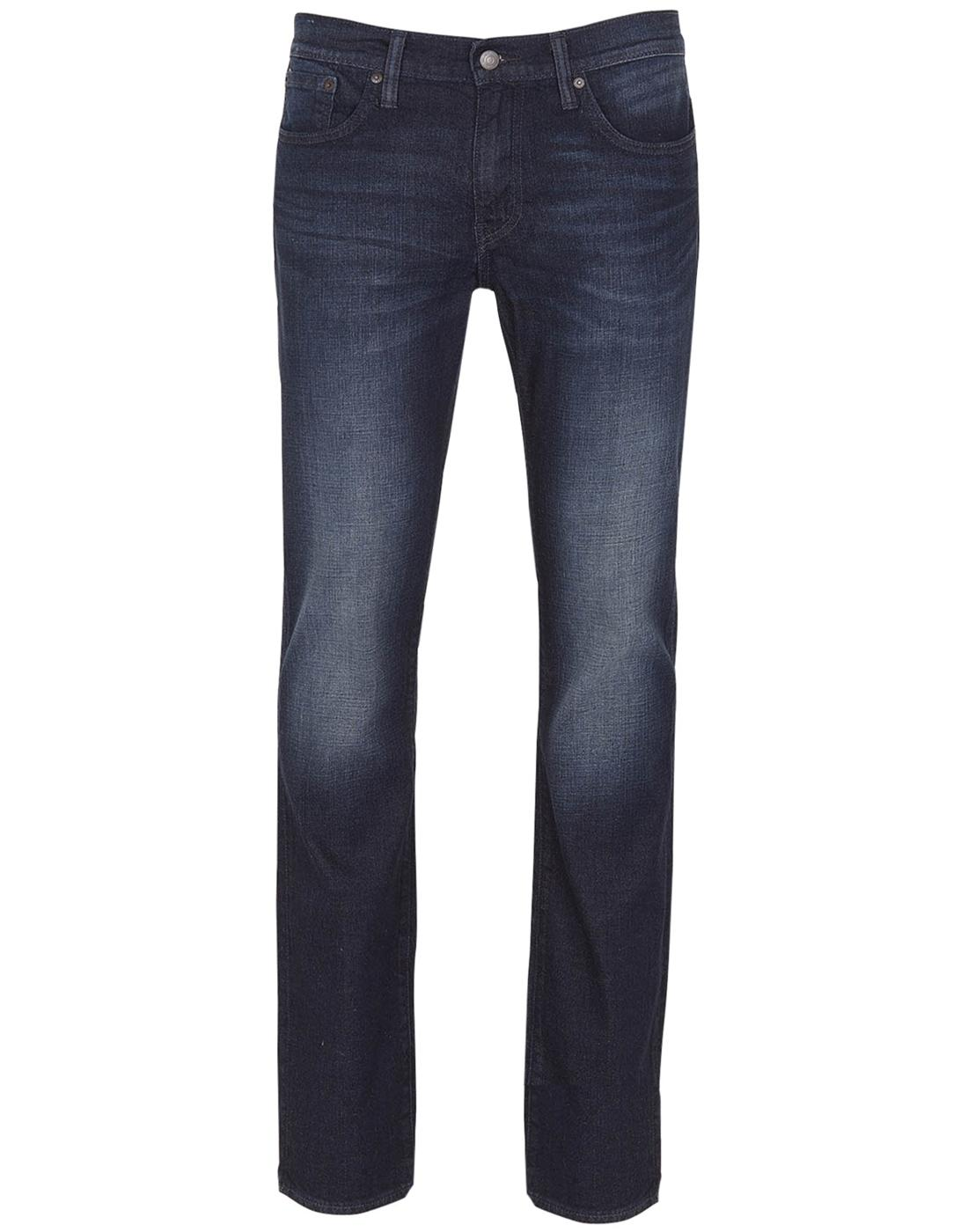 LEVI'S 511 Mens Slim Indigo Denim Jeans NIGHTMARE