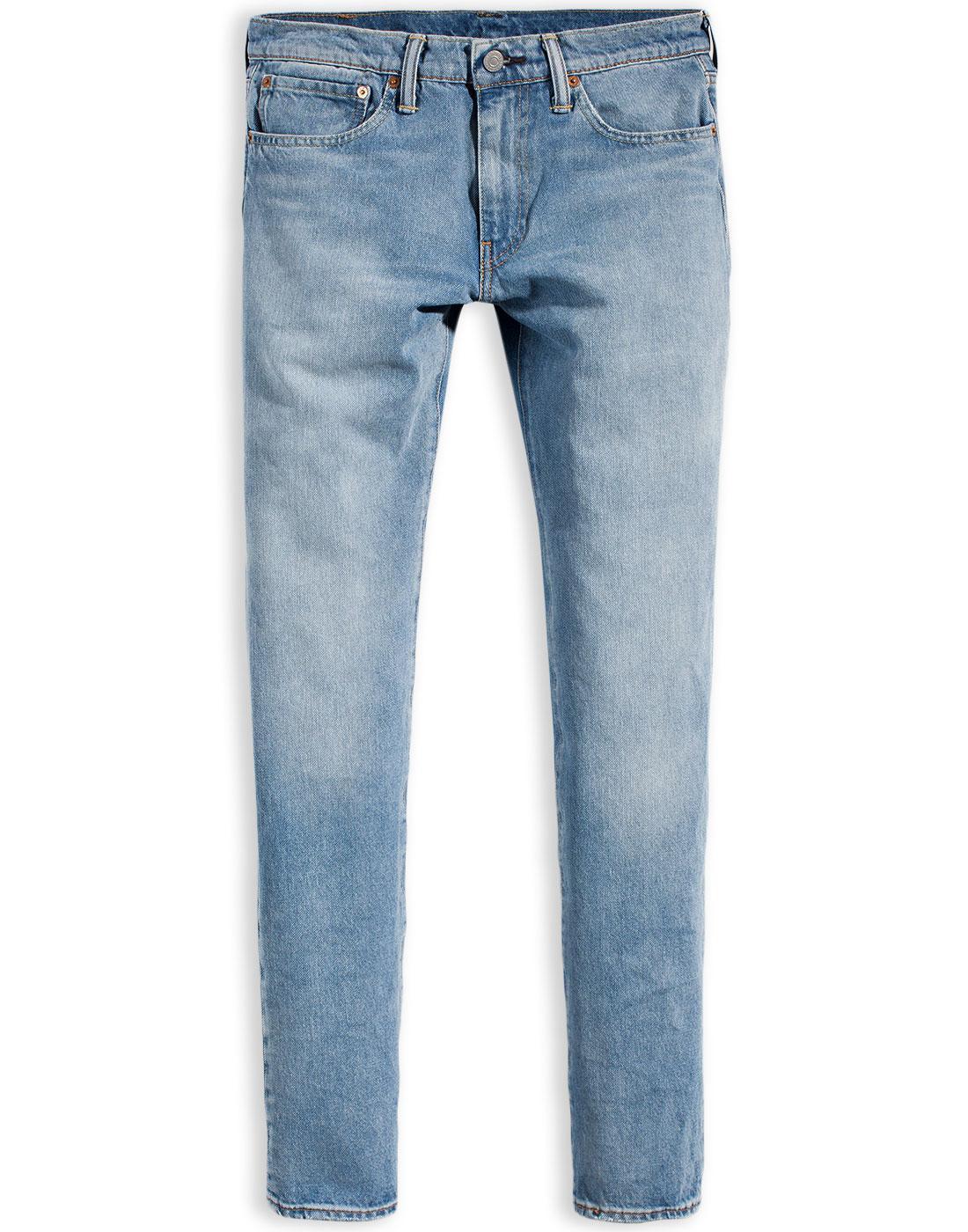 0901e5bc5a39 LEVI'S 511 Retro Warp Stretch Denim Jeans in Ocean Parkway