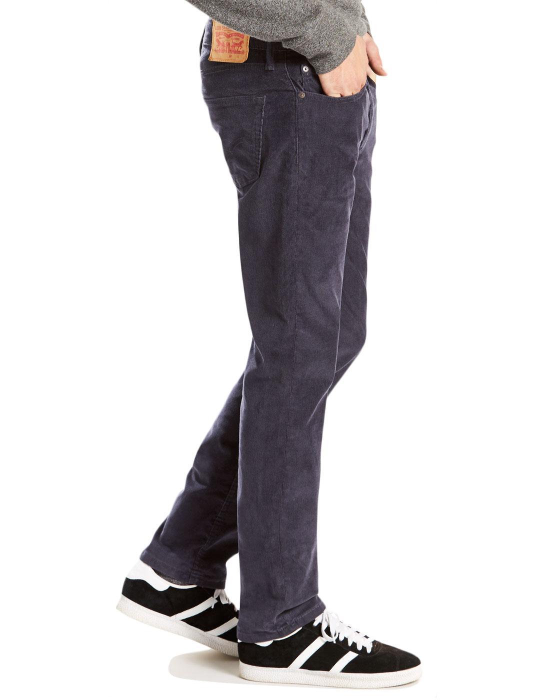 90f75a8f76b74c LEVI'S® 511 Retro Mod 1960s Mens Slim Fit Cord Jeans Nightwatch